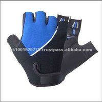 Pakistan High Quality and Best Price Leather Cycle Gloves