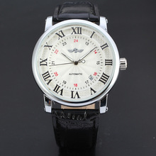 OEM mens sapphire crystal minimalist mechanical automatic watch