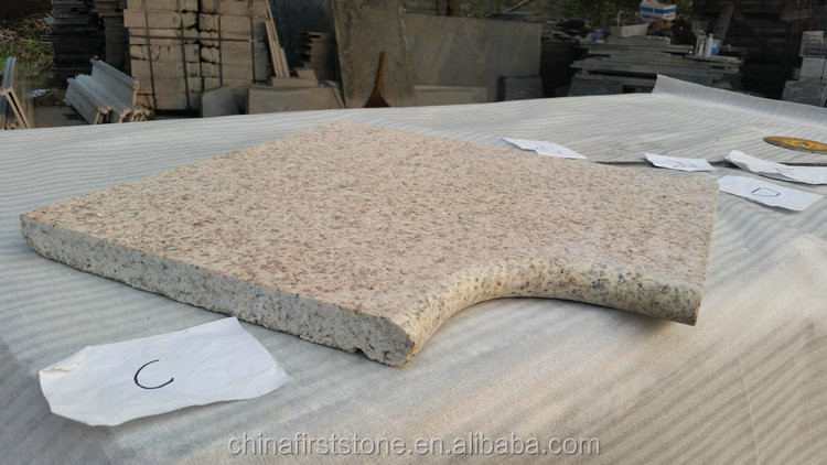 Chinese Product SAND GOLD G682 Granite Normal Excellent Quality Swimming Pool Border