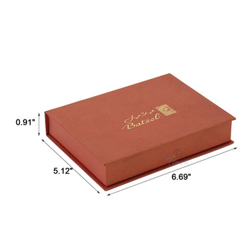 hot stamp luxury chocolate paper packaging box