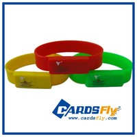 Wholesale silicone usb wristband 1gb-64gb usb flash drive bracelet