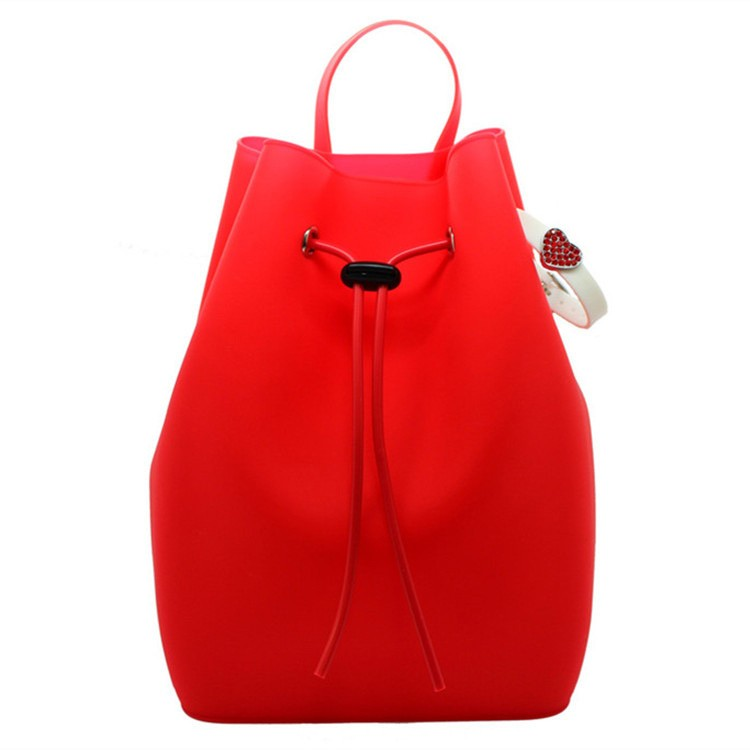 High quality fashion silicone shoulder bag, backpack bag