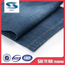 100% organic cotton denim jeans clothing fabric with best price