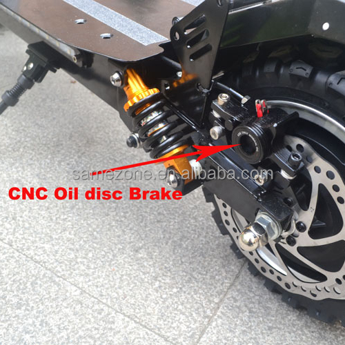 2018 Hot selling two wheel folding bicycle trike 20ah battery 2400w eagle electric scooter
