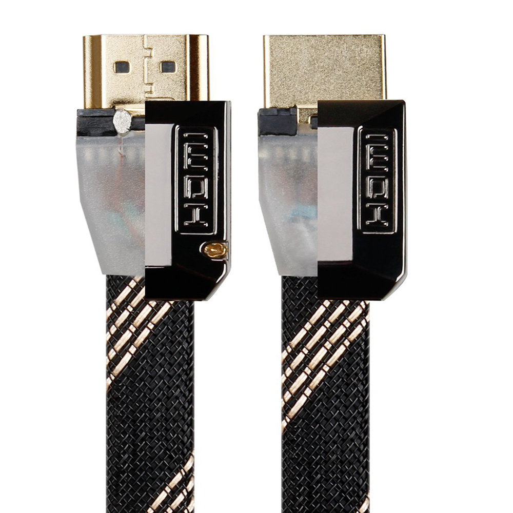 New premium Zinc Alloy Shell HDMI Cable for HD TV, DVD, Notebook, Xbox 360, PS3, Blu-ray