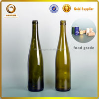 750ml burgundy glass wine bottles , red wine glass bottle