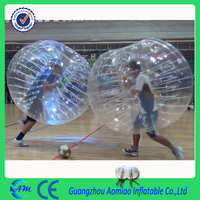 2016 inflatable soccer bubble / inflatable bumper ball / body zorb ball factory with updated machine