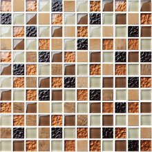 20*20mm cheap glass mosaic tiles for swimming pool tile
