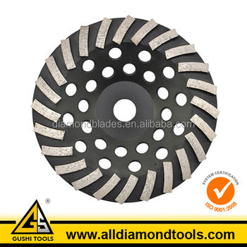 Angle Grinder Diamond Turbo Grinding Cup Wheel for Concrete