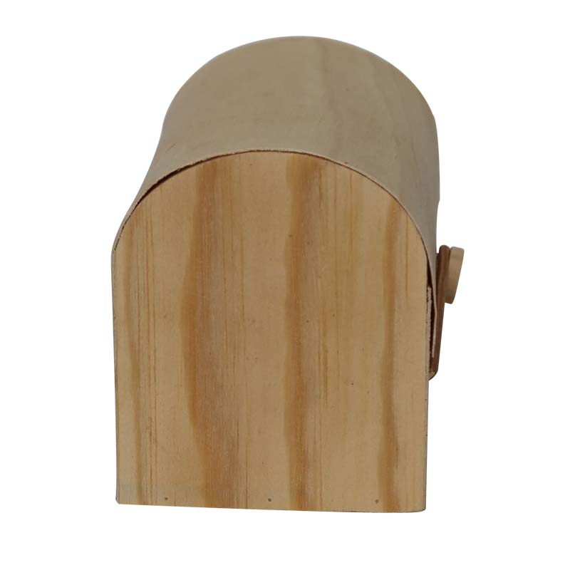 Customized shape lightweight wood box for sale