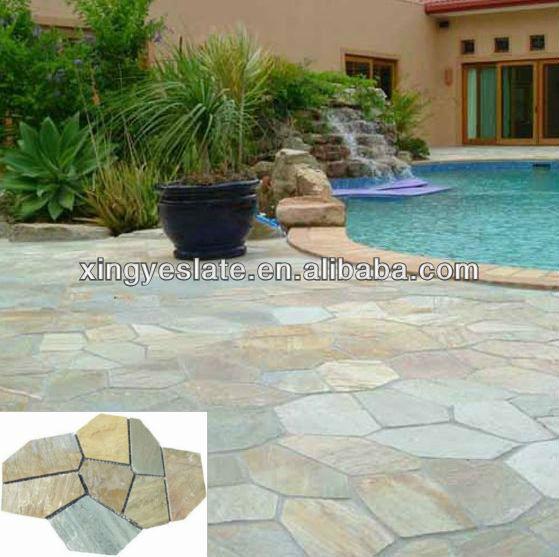 Pavimento de piedra exterior piedra de pavimentar for Pavimento ceramico exterior barato
