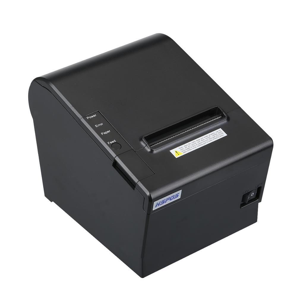 High speed 80mm thermal printer use directly thermal <strong>paper</strong> usb lan port with auto cutter J80UL