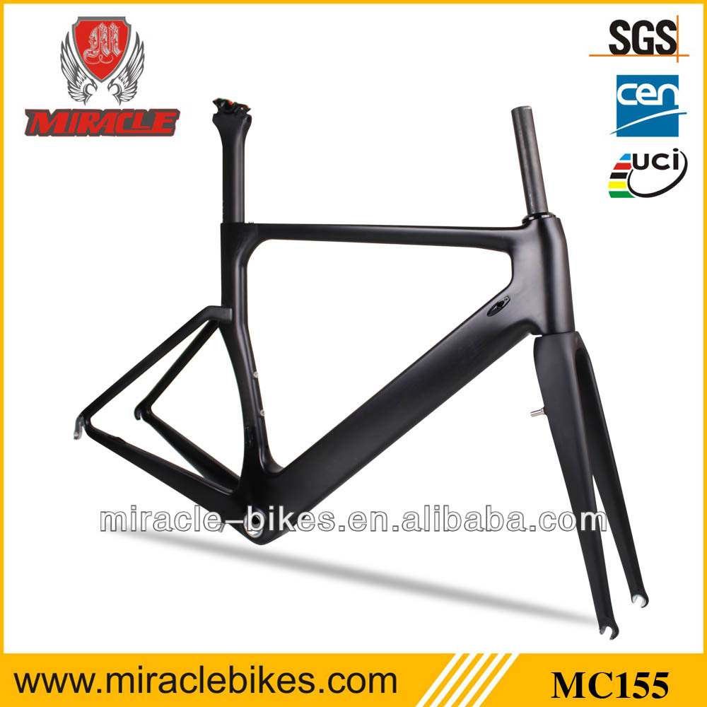 OEM Toray T700 Carbon Fiber Road Bicycle Frame,Di2 Bike Frames Bottle Cage Carbon Supply