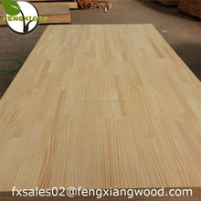 Pine Finger Jointed Laminated Wood Board for Wood Furniture