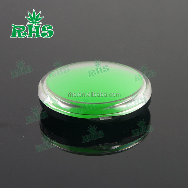 2016 plastic food grade silicone cosmetic container for wax oil container