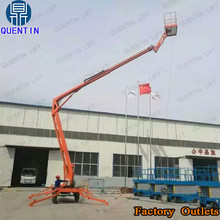 Hydraulic pickup truck boom lift / building painting equipment