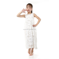 Girls White Lace Dress Wholesale Party Dress for Infant and Toddler