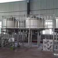 2000L 20Hl 20bbl Microbrewery Equipment Turnkey