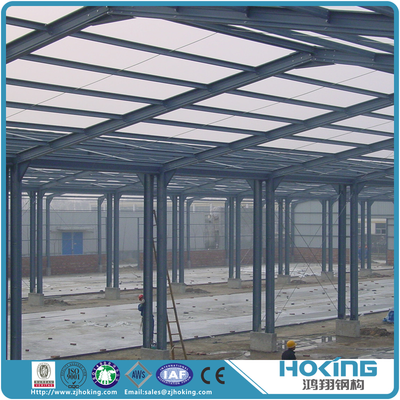 Fast Building High Quality Poultry Shed Frame Prefabricated Steel Structure Shed