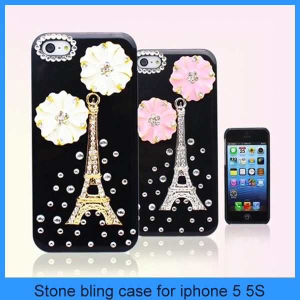 luxury bling diamond crystal star hard case cover for iphone 5 iphone 5s 5G