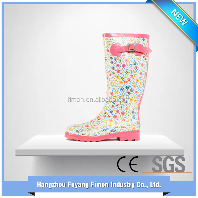 Shopping from china low heel wellington boots women