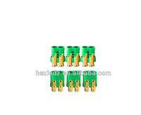 6.5mm Gold Polarized Connectors