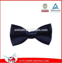 Fashion adjustable cliped ribbon bow tie