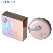 LCHEAR brand OEM or ODM cosmetic product waterproof concealer compact makeup powder for female