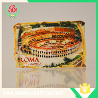 Hot Sale Resin Roma Colosseo Souvenir Magent For Fridge