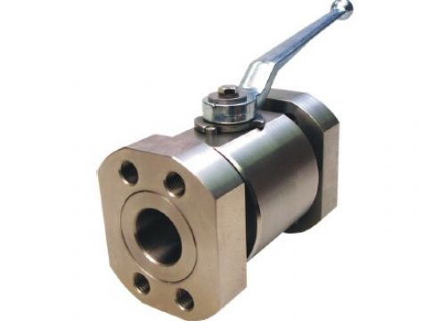 china manufacturer flanged high pressure ball valve