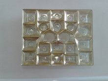 New design PVC plastic chocolate tray