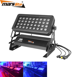 Stage kit equipment LED 36x10W IP65 RGBW led wall washer LED City Color Light