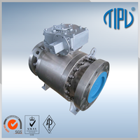 API6D Hydraulic Actuator ball valve floating for water