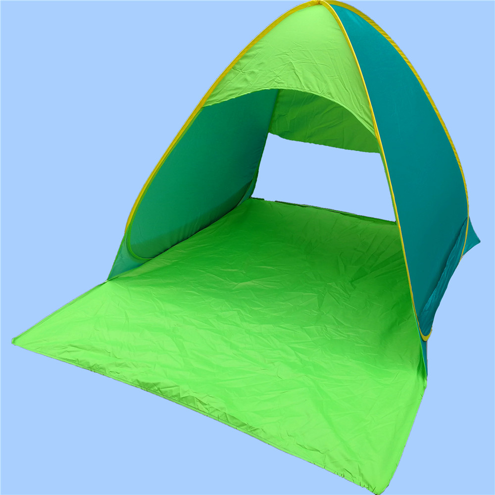 2017 New Hot Selling Spring Steel Wire Pet Pop Up Tent Beach Wholesale