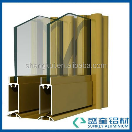 support aluminium extrusion for aluminium profile to make doors and windows in China Zhejiang