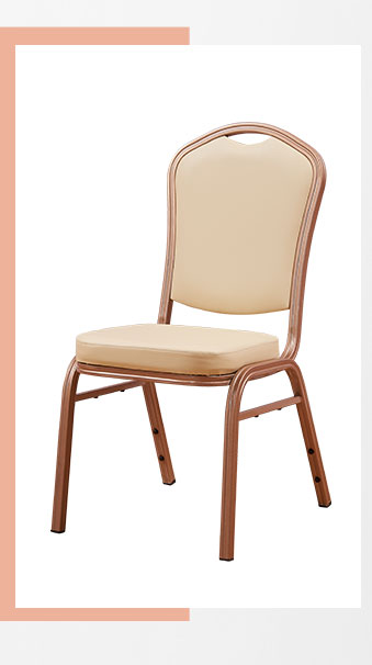 Wholesale Hotel Resort Aluminum Metal Banquet chair Used Stacking Conference iron Chair
