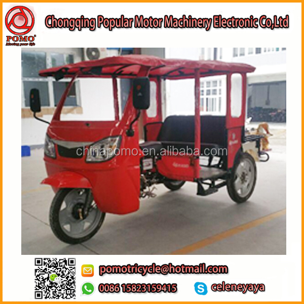 Popular Hot Sale China YANSUMI 300Cc Trike, Suzuki Three Wheel Motorcycle, Adult Electric Tricycle