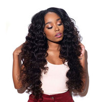 Sangita Indian Natural Deep Wave Hair Without Weft Free Shipping X Pression Ombre Braiding Hair Weave
