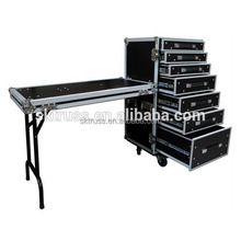 High quality large Rack Flight Case with Casters