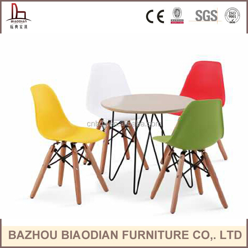 round&square wooden home restaurant hotel cafe kids dining table sets