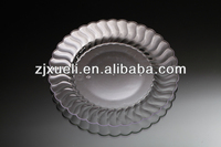 disposable round clear plastic trays,plastic disposable plates,cheap restaurant dinnerware