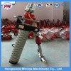 Underground coal mining equipment pneumatic roof bolter