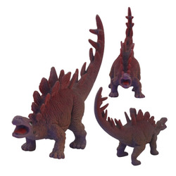 plastic dinosaur cartoon zoo animal toys made in china