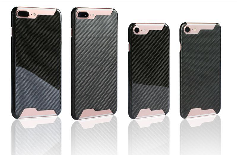 Luxury carbon fiber cell phone cases