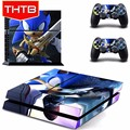 Cute cartoon skins for ps4 console controller vinyl sticker