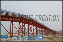 Long distance good proformance belt conveyor for cement plant/stone quarry/smelting/coal Industry