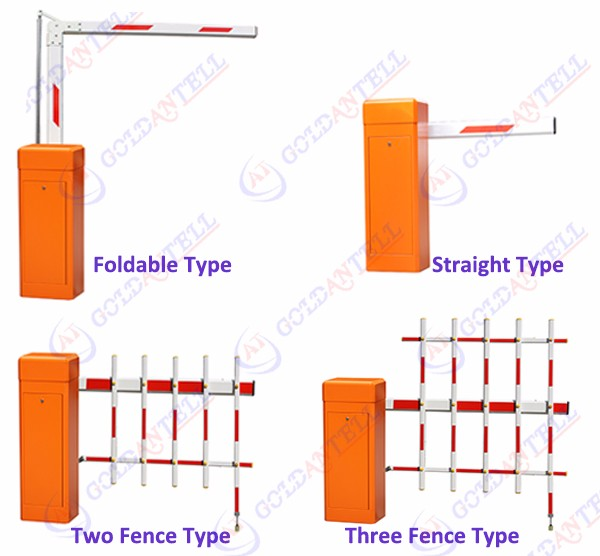 Nice shape durable automatic high-security auto parking barrier gates