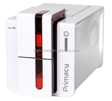 Two Faces Printed Evolis Primacy Smart ID Card Printer