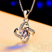 Alloy jewelry OEM four leaf clover pendant