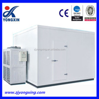 coldroom refrigeration unit big room , cold storage processing room , ice cream cooling room